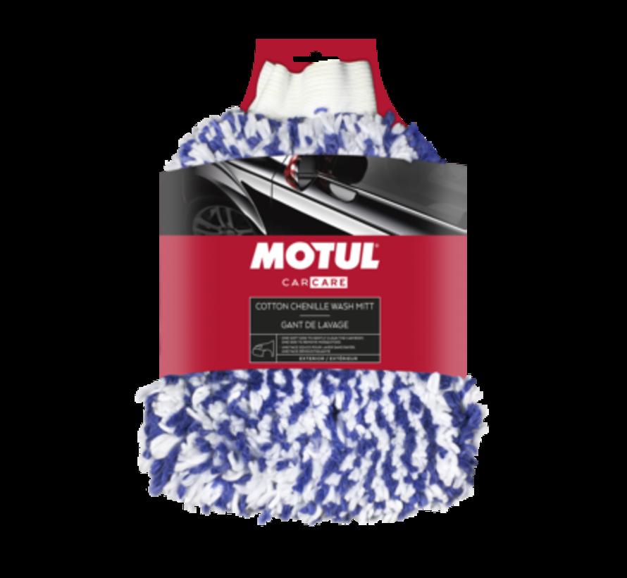 MOTUL® Car Care Cotton Chenille Wash Mitt