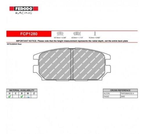 Ferodo Racing Ferodo Racing FCP1280R Remblokken DS3000 Compound