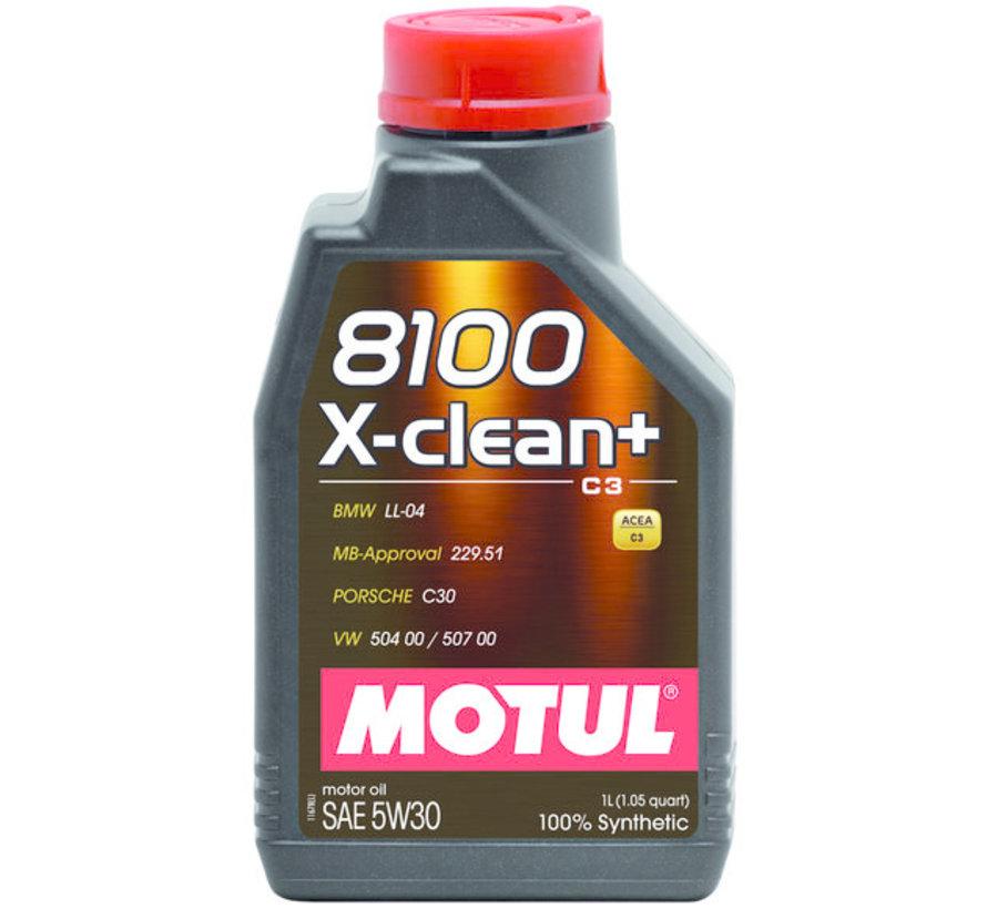 8100 X-Clean+ 5W30 - Motul