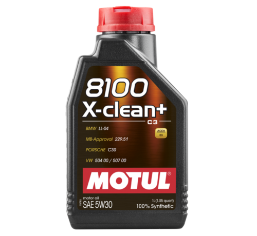 Motul 8100 X-Clean+ 5W30 - Motul