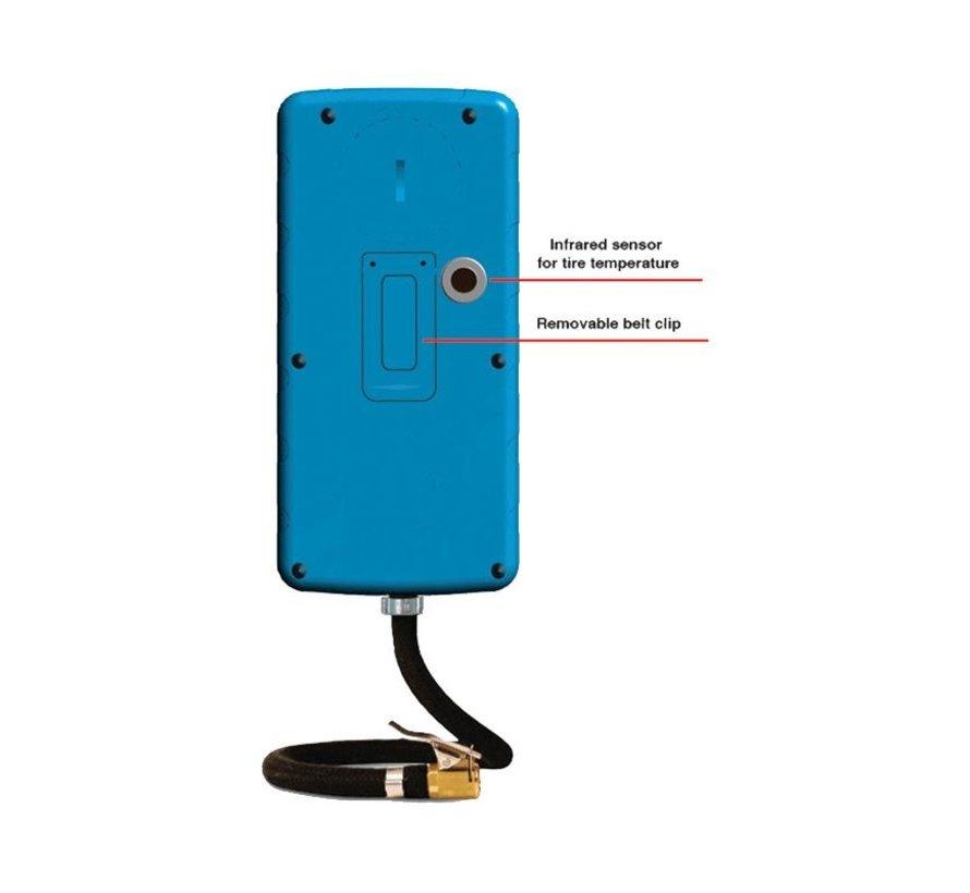 Prisma bandenspanningmeter HiPreMa 4 + stopwatch + IR temp.