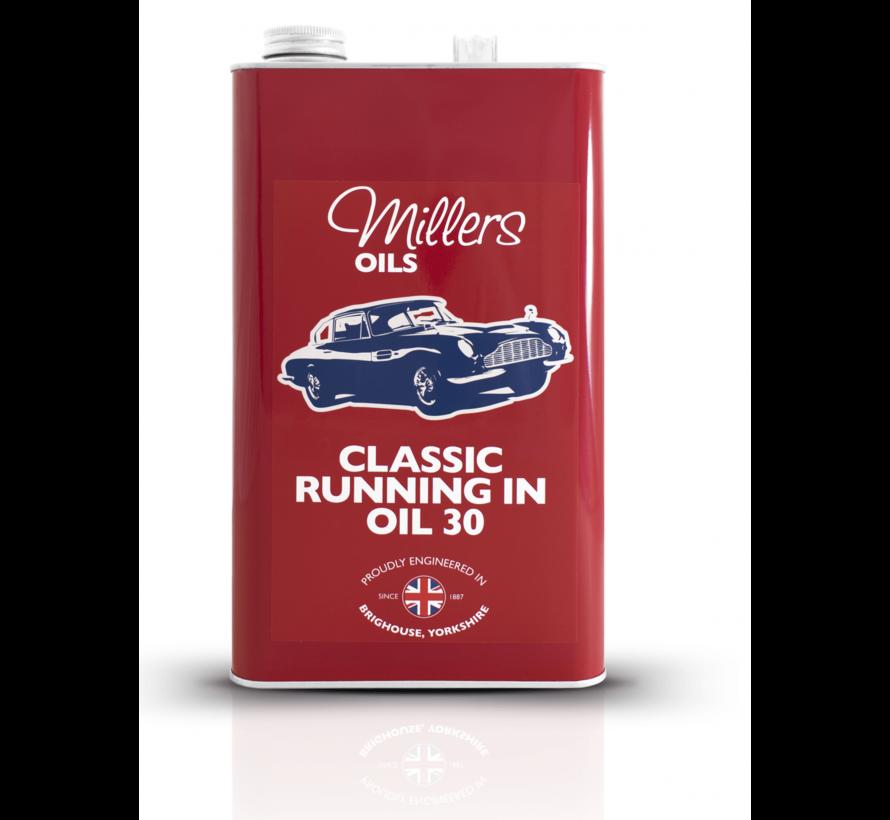 Inloopolie Classic Running in Oil 30 – Millers Oils