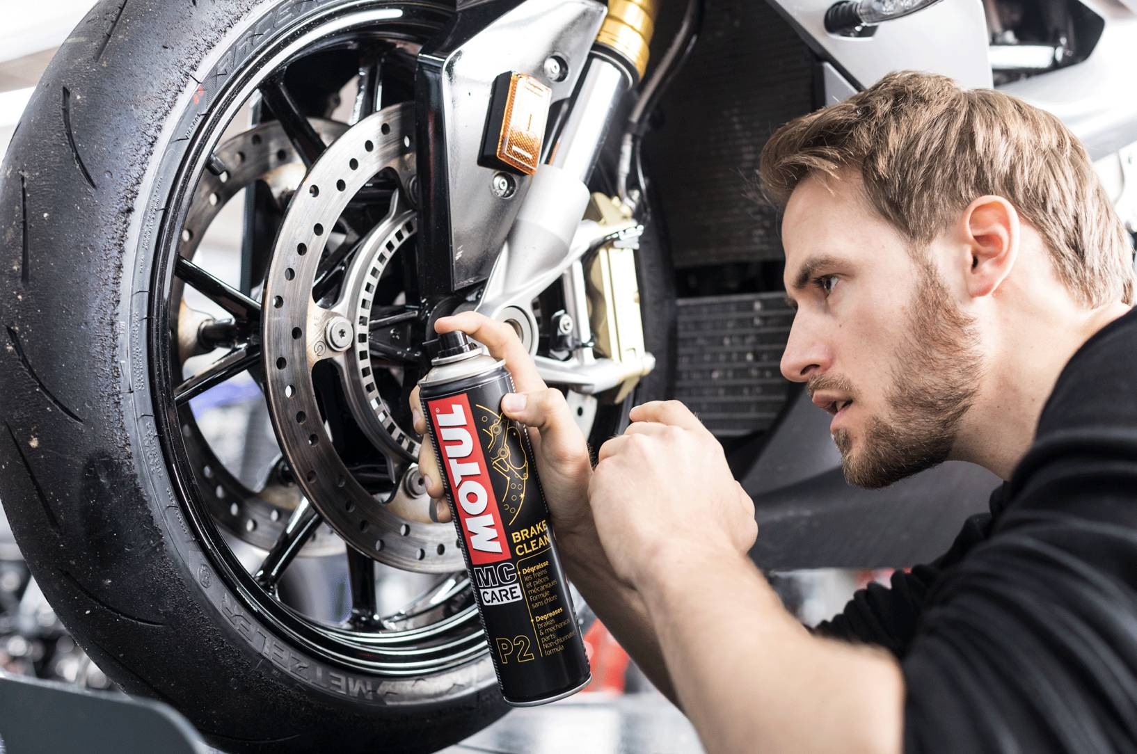 P2 Brake Clean Contact
