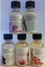 DeOliebaron Lotus Cherry Massage Olie 30 ml