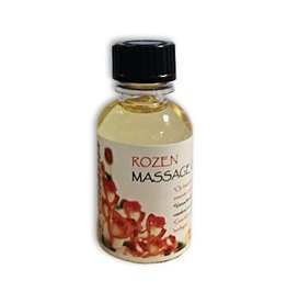 DeOliebaron Rozen Massage Olie 30 ml