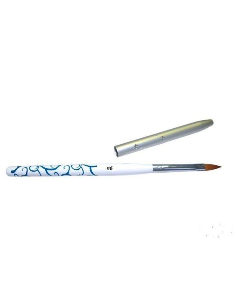 Merkloos Acryl penseel nr. 6