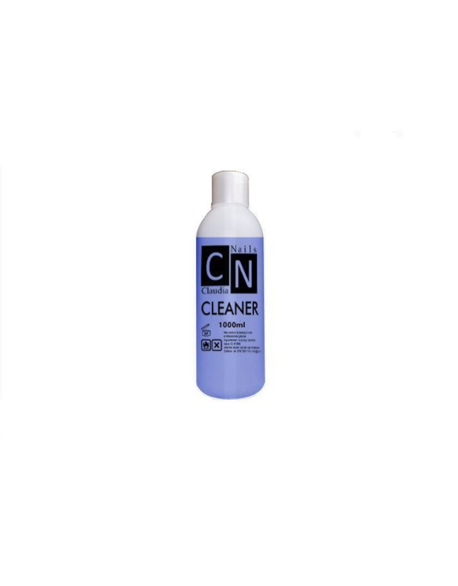 ClaudiaNails Cleaner  Blauw 1000 ml