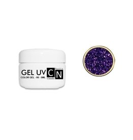 ClaudiaNails Color Gel Violet glitter 5 ml (G06)