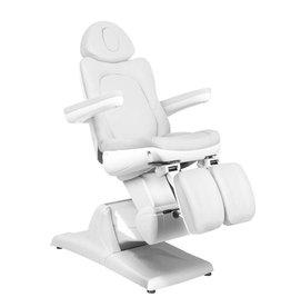Merkloos Elektrische Behandelstoel Wit (3 motoren)