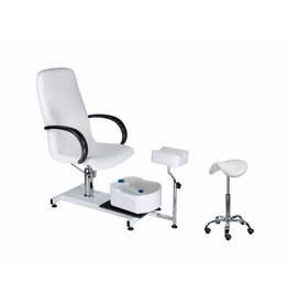 Merkloos Pedicurestoel SPA 100 + Zadelkruk