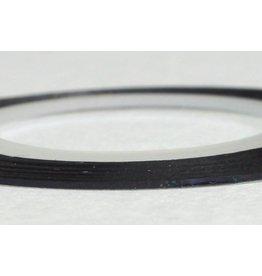 Merkloos Striping Tape Zwart/Groen