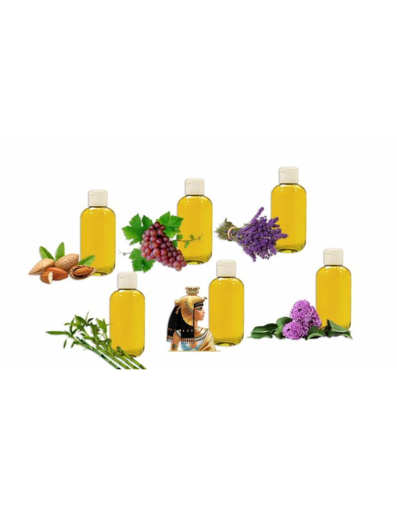 DeOliebaron Seringen Massage Olie 500 ml
