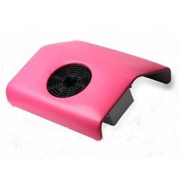 Merkloos Stofafzuiger Roze met een motor