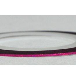 Merkloos Striping Tape Donker Roze