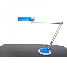 Merkloos Tafellamp blauw