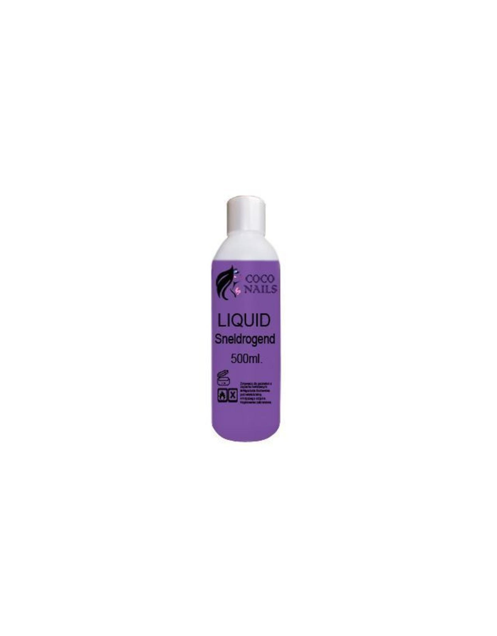 Coconails Acryl vloeistof (Liquid) Sneldrogend paars PRO 500 ml