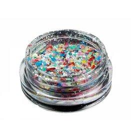 Merkloos Neon glitters (nr. 10)