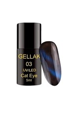 Coconails Cat Eye Gellak Blauw
