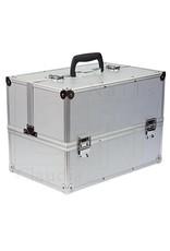 Merkloos Aluminium koffer - Zilver