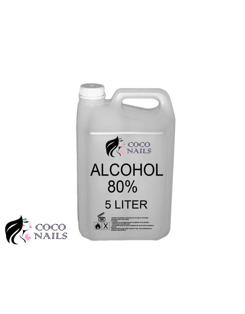 Coconails 5 liter Alcohol 96%