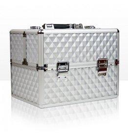 Merkloos Beautycase 3D Zilver