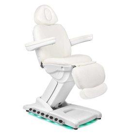 Merkloos Elektrische Behandelstoel LUXE Wit (4 motoren)
