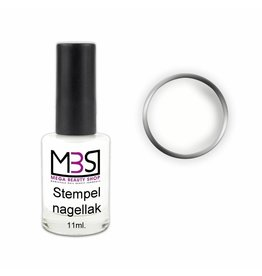 Mega Beauty Shop® Stempellak Snow White 11 ml