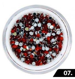 Merkloos Nailart Glas Steentjes 1,5 mm (nr. 07)