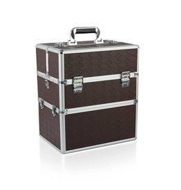 Merkloos Koffer groot Rechthoek Bruin