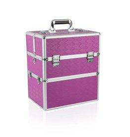 Merkloos Koffer groot Rechthoek Paars