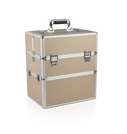 Merkloos Koffer groot Wit Koper