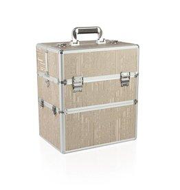 Merkloos Koffer groot Koper Bloem
