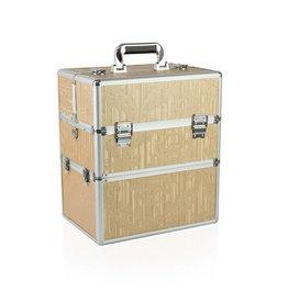 Merkloos Koffer groot Gold Bloem