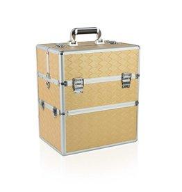 Merkloos Koffer groot Rechthoek Gold
