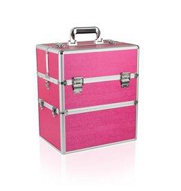 Merkloos Koffer groot Roze