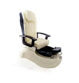 Merkloos SPA Pedicurestoel met massage Ecru