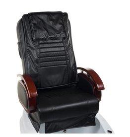 Merkloos SPA Pedicurestoel met massage Zwart