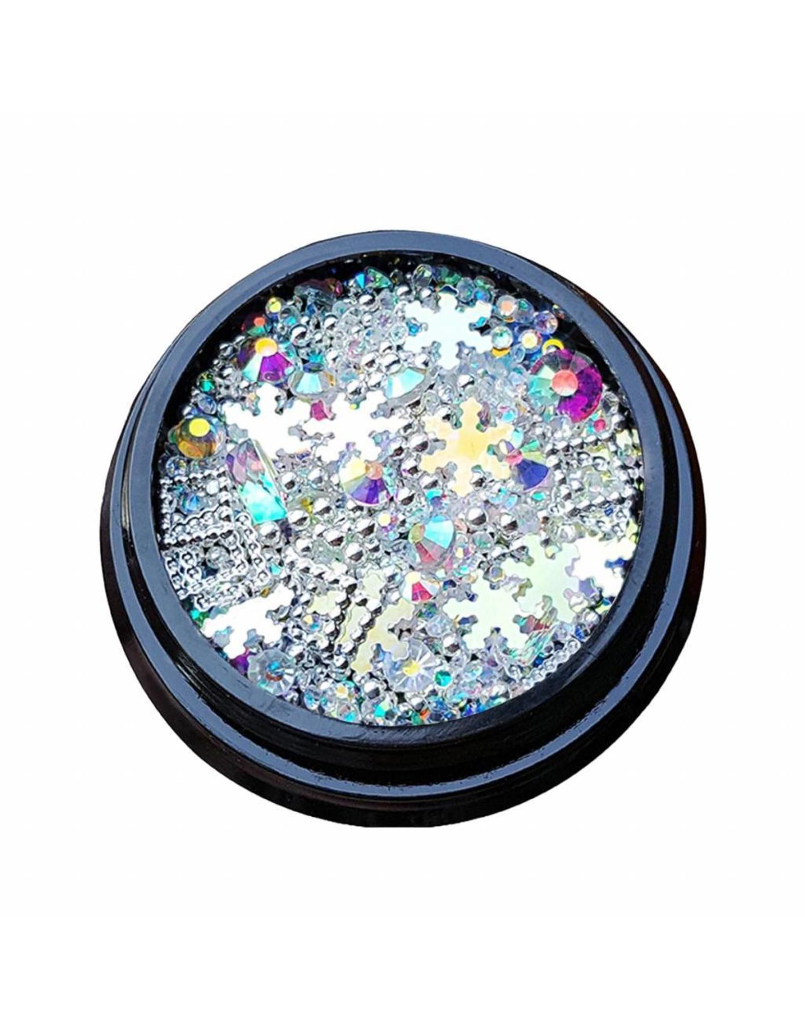 Merkloos 3D Mix of luxurious jewelry  (07)
