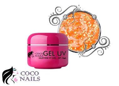 Neon Uv gel glitter