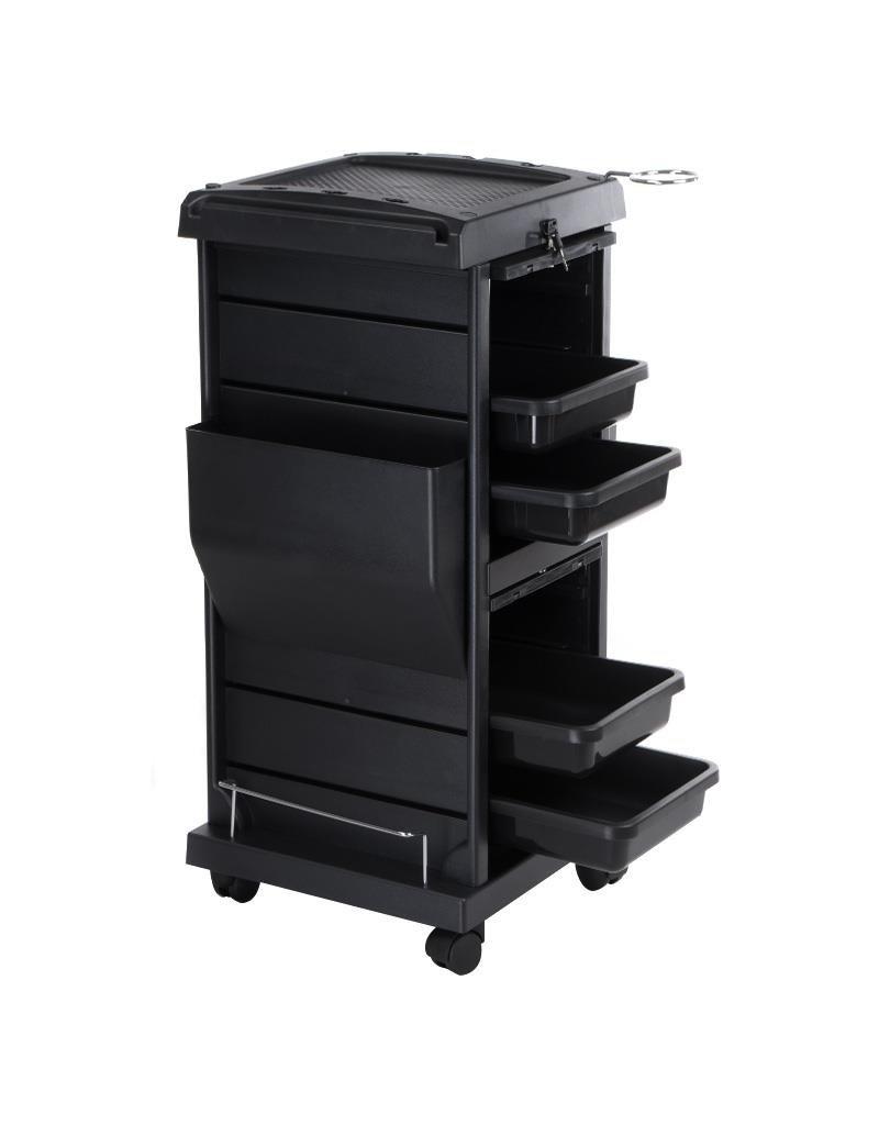 Merkloos Instrumententafel-Werkwagen Zwart