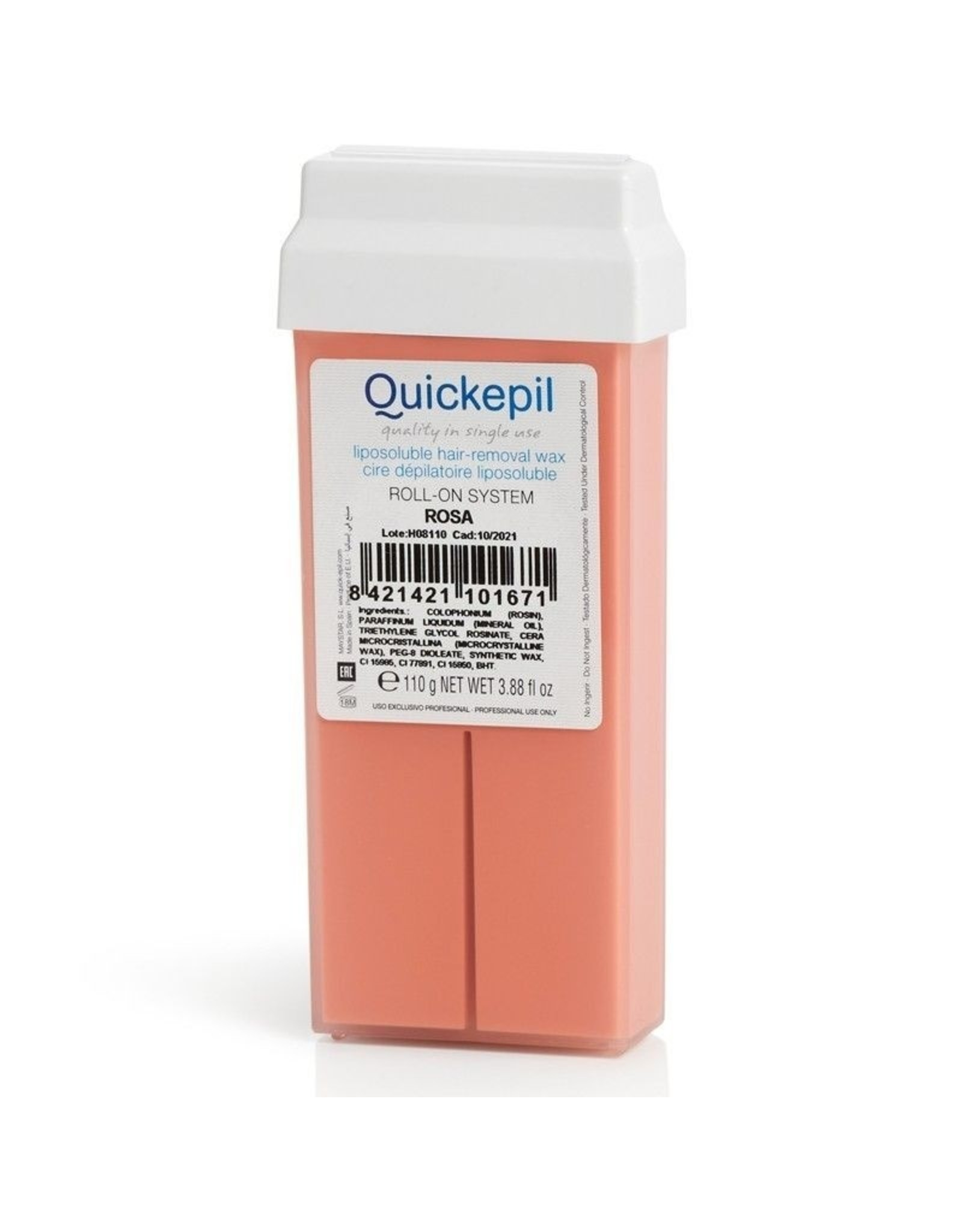 QUICKEPIL Harspatroon Rosa 110 ml