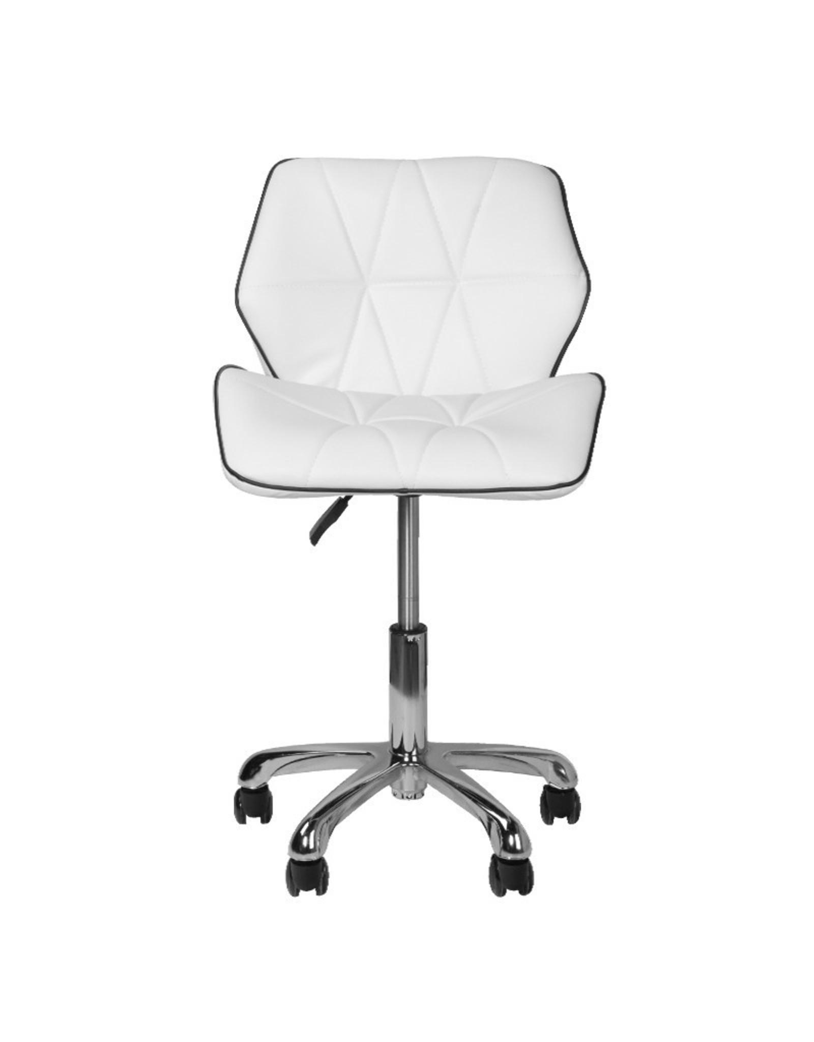 Merkloos Moderne werkstoel - Wit