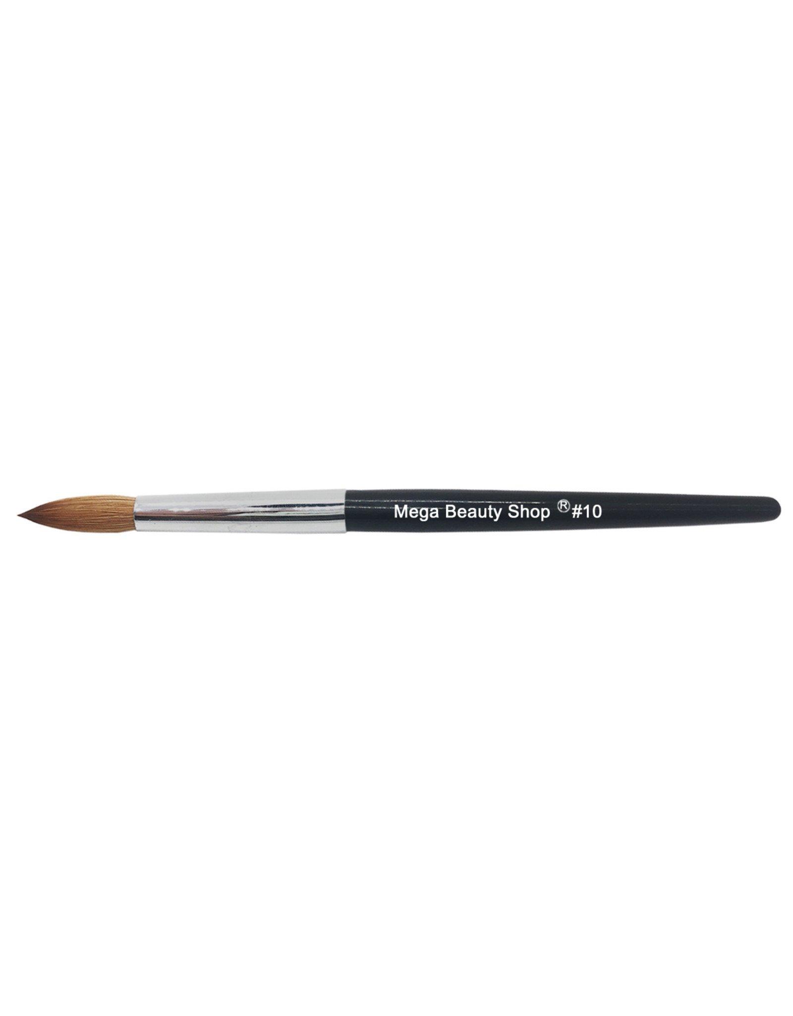 Mega Beauty Shop® Kolinsky acryl penseel - round #10