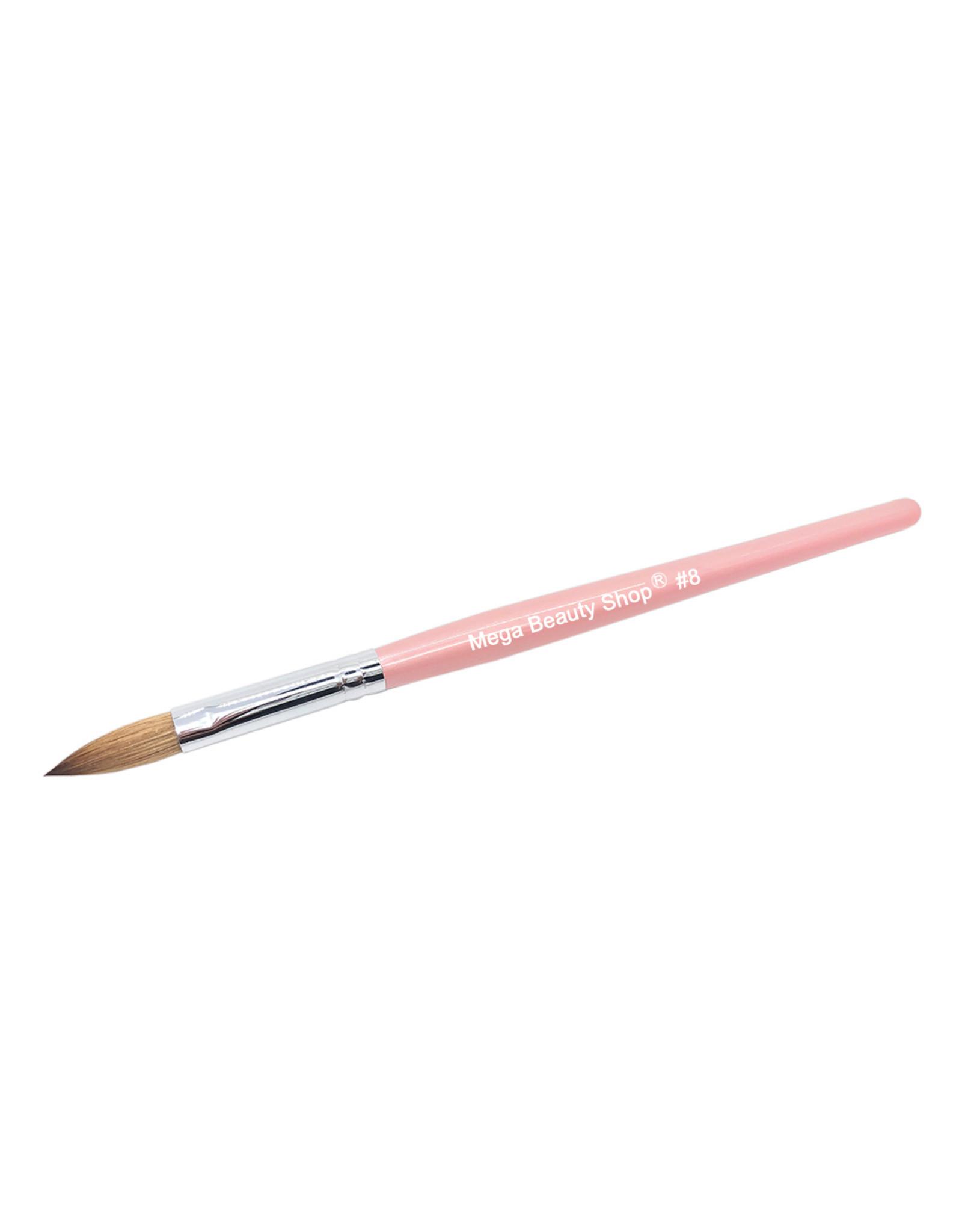 Mega Beauty Shop® Kolinsky acryl penseel - oval #8