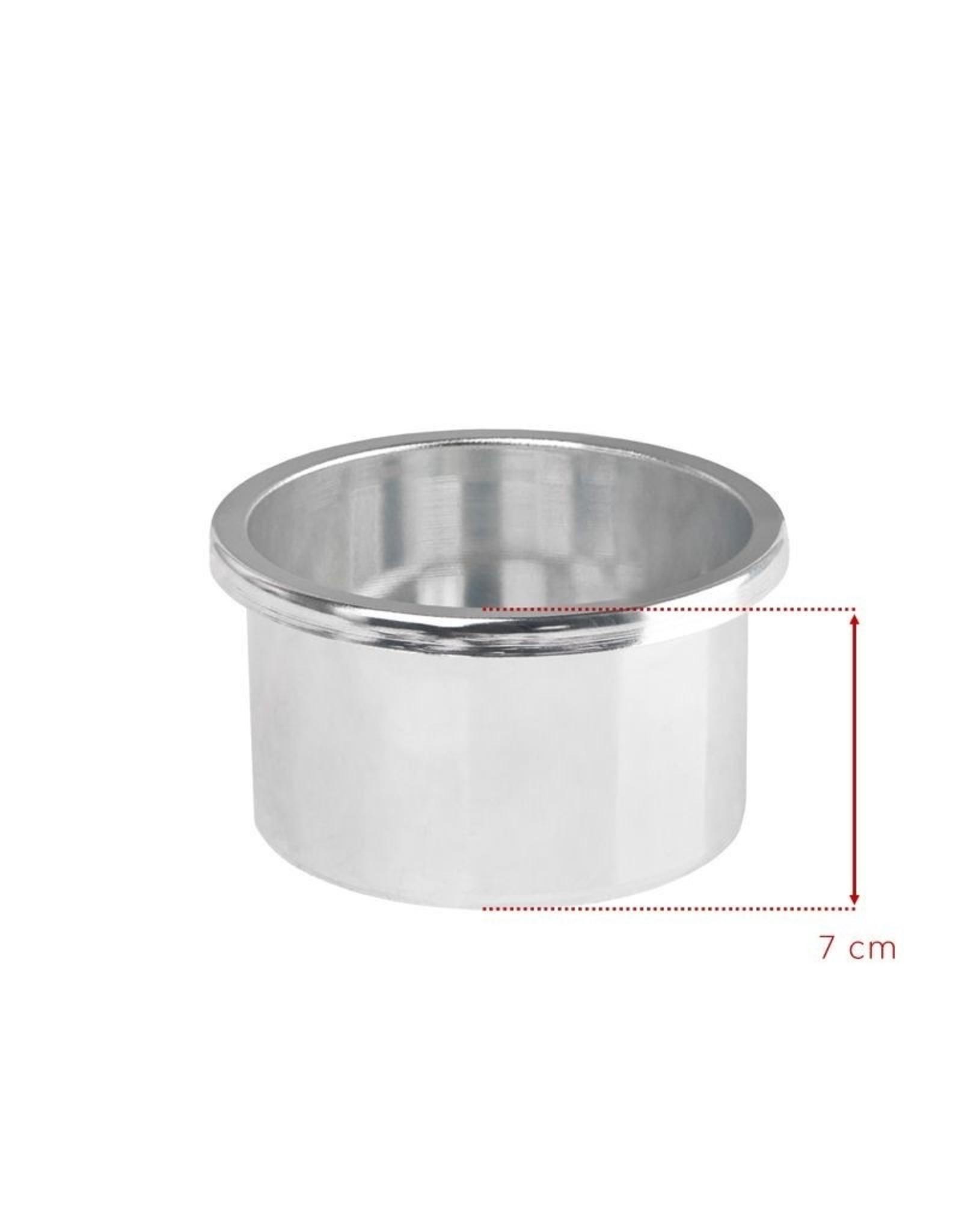 Merkloos Wax/hars verwarmer 400ML, 100W Roze