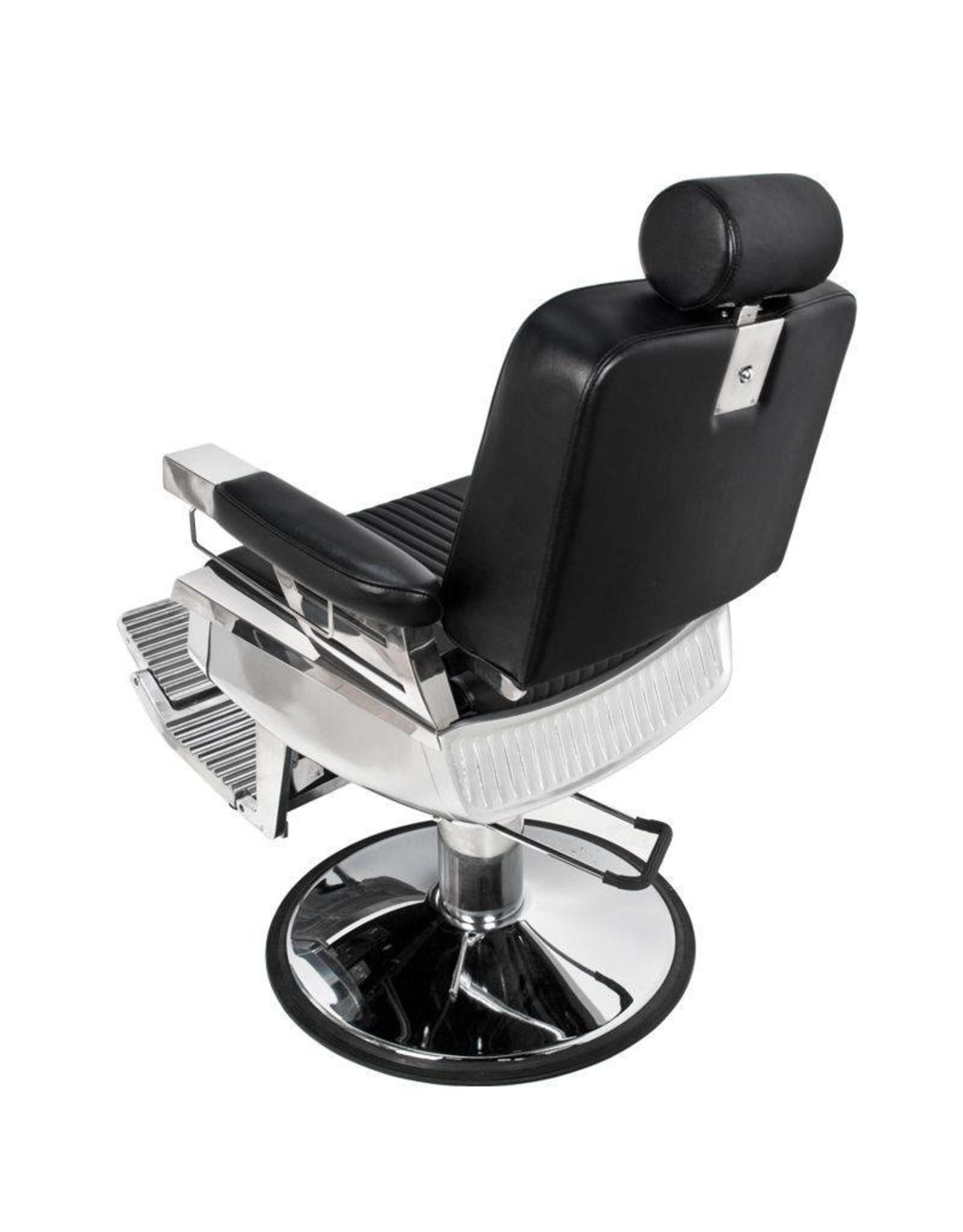 Merkloos Barbierstoel Zwart