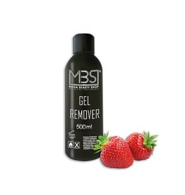 Mega Beauty Shop® Gel remover (500 ml)    met aardbeiengeur