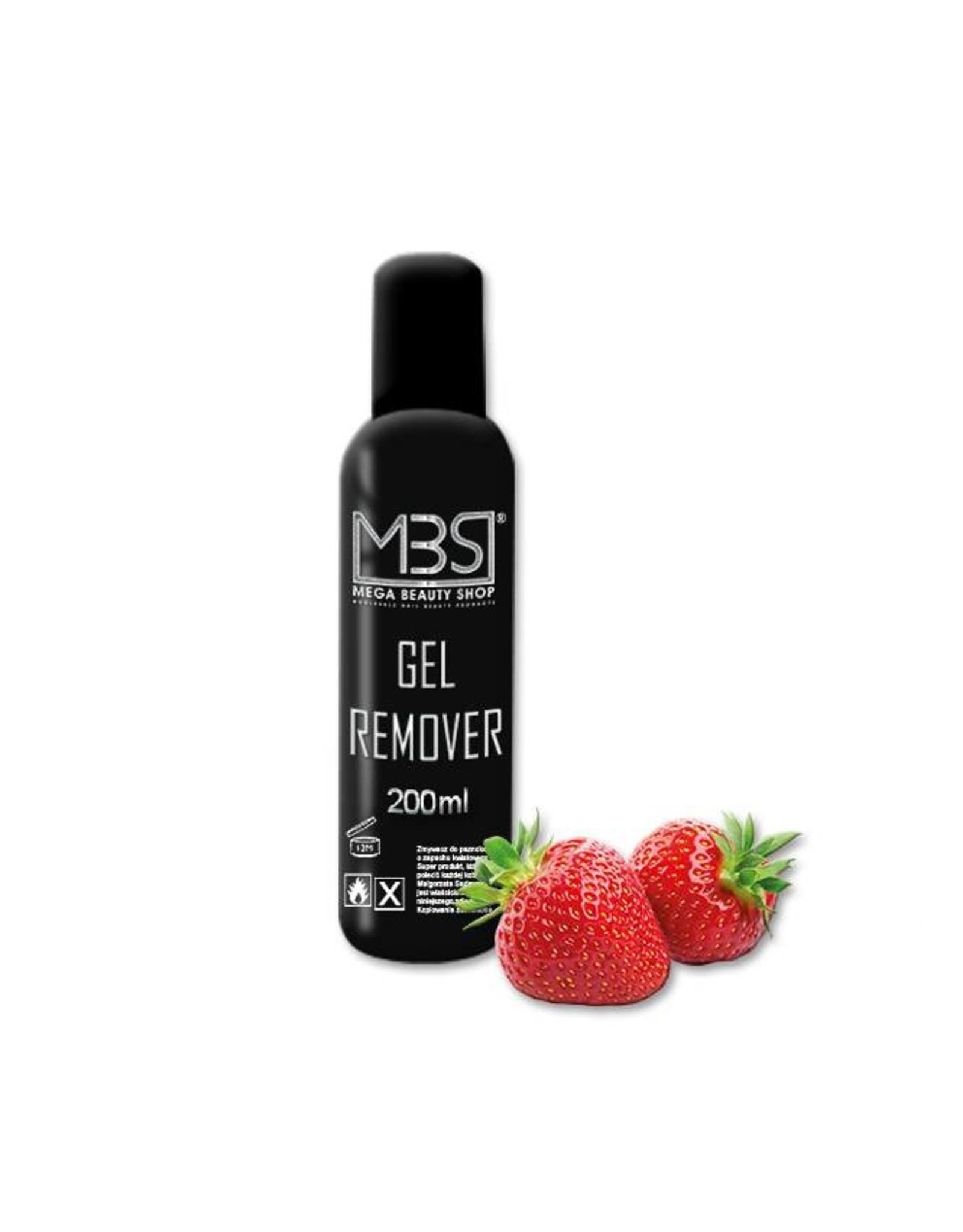 Mega Beauty Shop® Gel remover (200 ml)   met aardbeiengeur