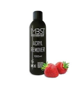 Mega Beauty Shop® Acryl remover (1000 ml)     met aardbeiengeur