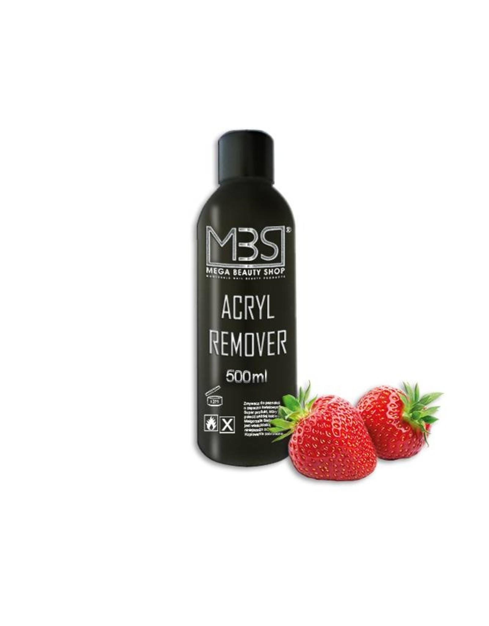Mega Beauty Shop® Acryl remover (500 ml)   met aardbeiengeur